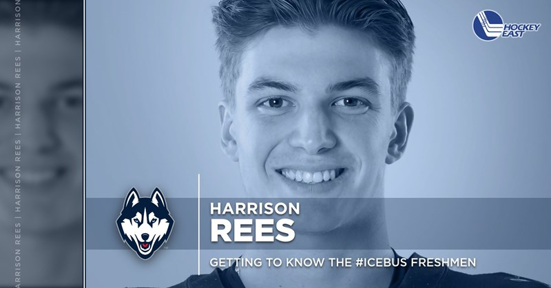 Getting to Know the #IceBus Freshmen: Harrison Rees - University of Connecticut Athletics